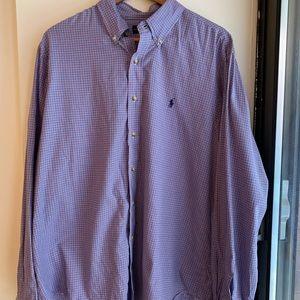 Red White & Blue Checkered Ralph Lauren Shirt